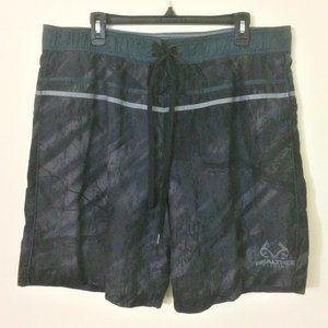 Realtree Fishing Men's Volley Swim Shorts XL